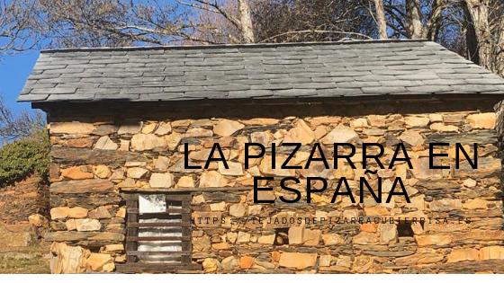 La pizarra en España